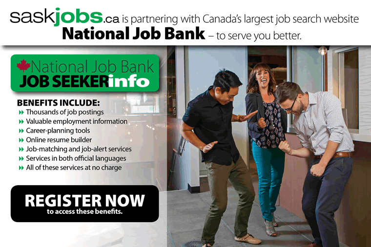 Job Seekers - Register now with the National Job Bank
